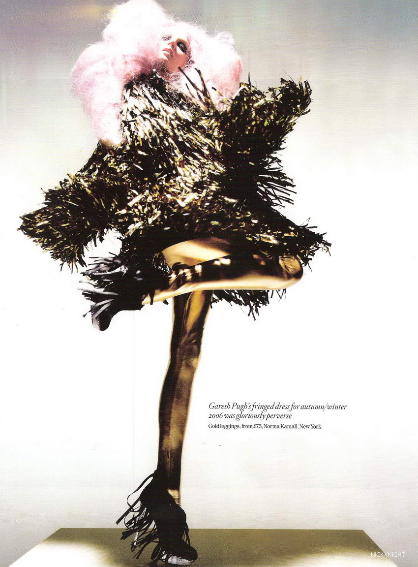 Nick Knight for Vogue December 2008