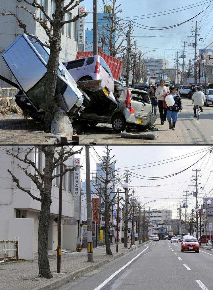 Tsunami Clean Up Japan ShockBlast