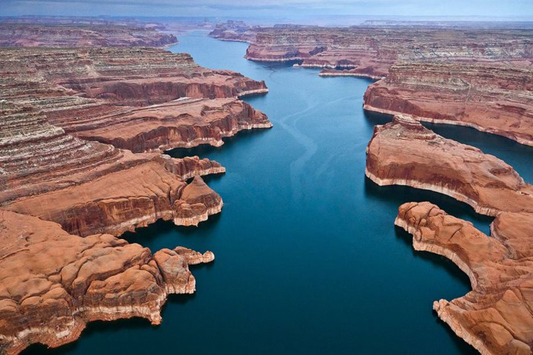 must visit lakes 2017 lake powell arizona , one of the world's best lakes in the world to visit