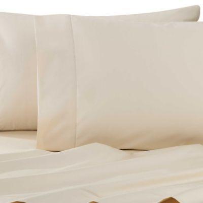 wamsutta dream zone pimacott 750 thread count king sheet set in ivory