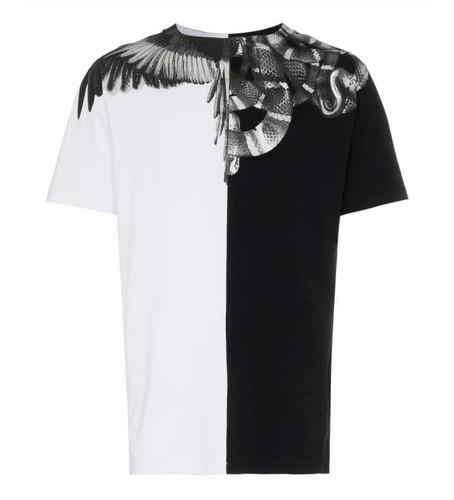 [現貨] Marcelo Burlon 陰陽蟒蛇翅膀短袖