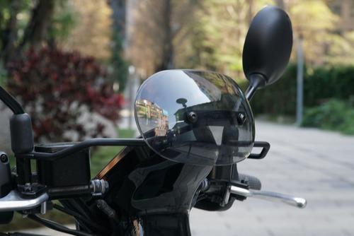 Gogoro 3 Plus造型燻黑Gozilla小風鏡 副廠 強化支架 附螺絲 安裝簡易 推薦