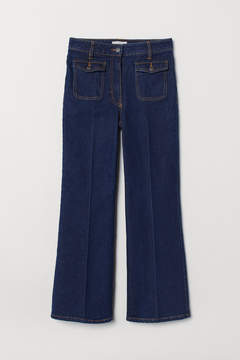 High Cropped Jeans
