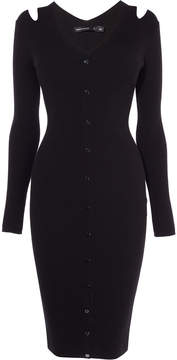 Karen Millen ribbed bodycon
