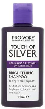 Touch of silver shampoo
