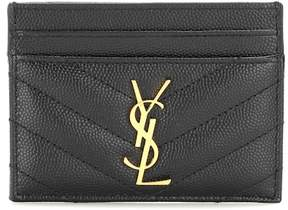 Saint Laurent Monogram quilted leather card holder