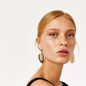 Cheeseplant Drop Earrings