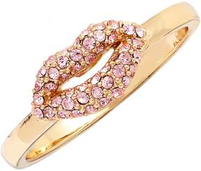 Kate Spade New York Pave Lip Statement Ring