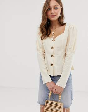 Linen mix with Top