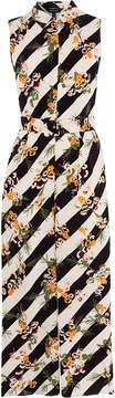 Karen Millen stripe jumpsuit