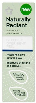 Superdrug Naturally Radiant Glycolic Overnight Peel 30ml