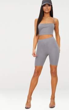 Charcoal Grey Cycling Shorts