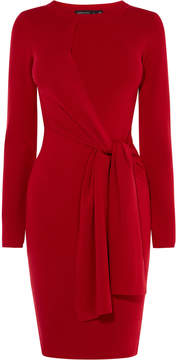 Karen Millen red wrap dress