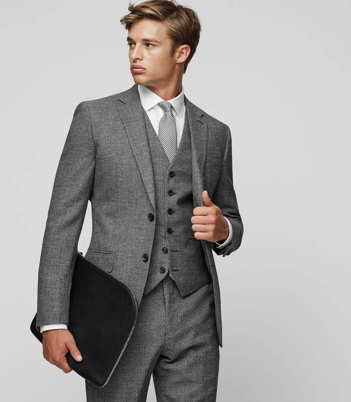 Bronson W Slim Wool Waistcoat