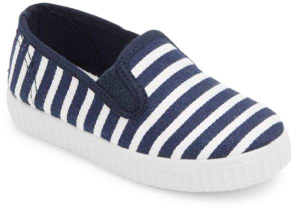 Cienta Baby's & Kid's Striped Slip-On Sneakers