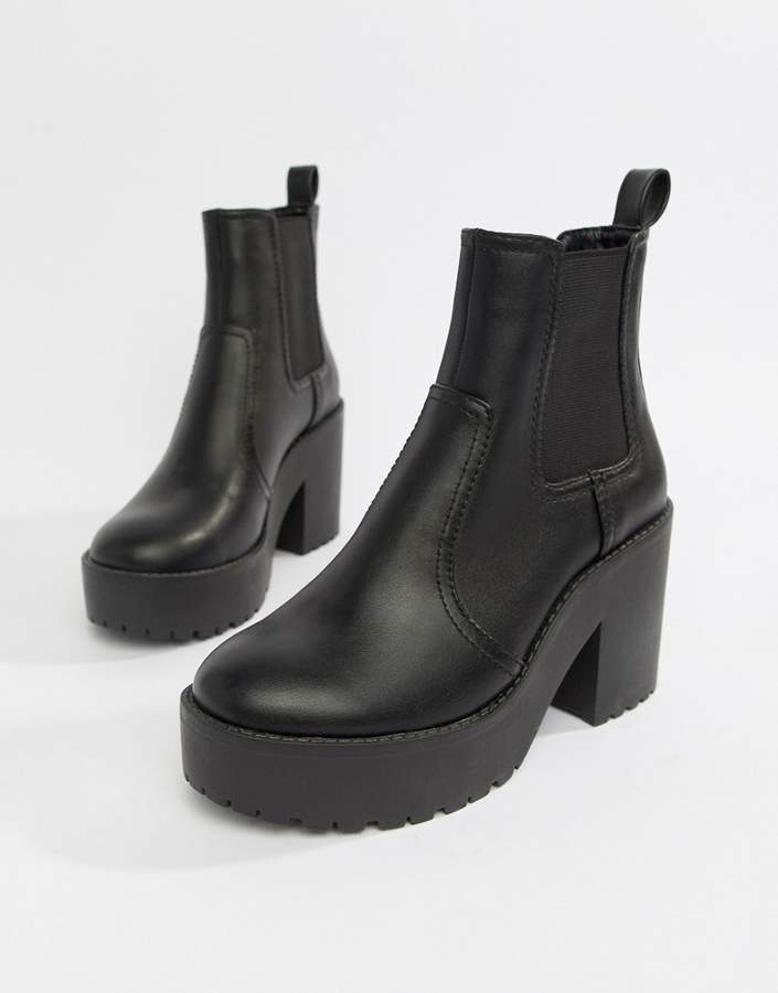 Asos Design ASOS DESIGN Element chunky chelsea boots