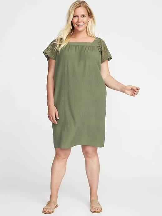 plus size linen dress Archives -