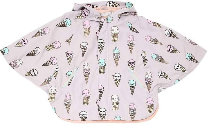 Stella Mccartney Kids Color Changing Ice Cream Nylon Coat