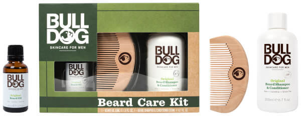 Bulldog Skincare Comb and Oil Beard Care Kit