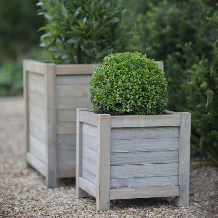 Garden Trading - Wooden Planter - 40cm