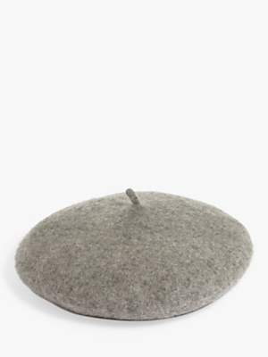 Phase Eight Teresa Beret Hat, Grey