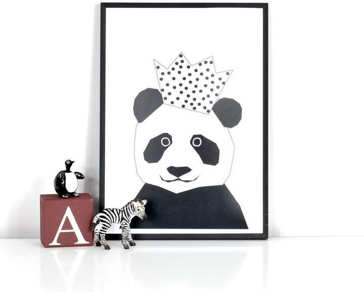 Ingrid Petrie Design Party Panda Print