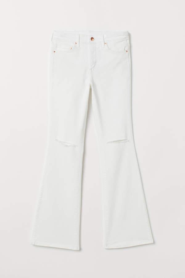 H&M Mini Flare High Jeans