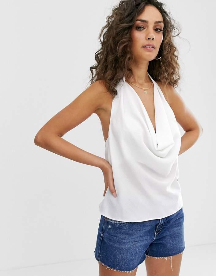 Asos Design ASOS DESIGN cowl neck top