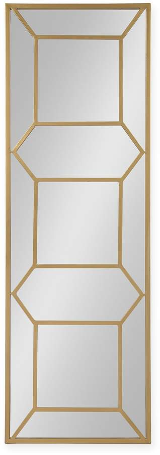Kate And Laurel Kate and Laurel Nahla 18-Inch x 54-Inch Rectangular Wall Mirror