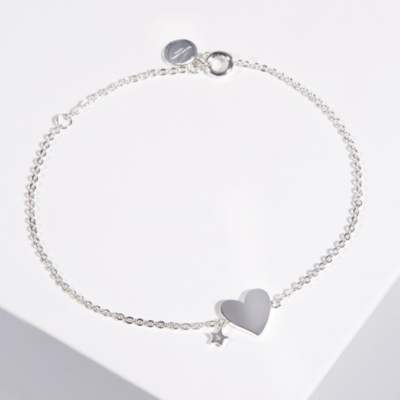 The White Company White Heart Foundation Bracelet