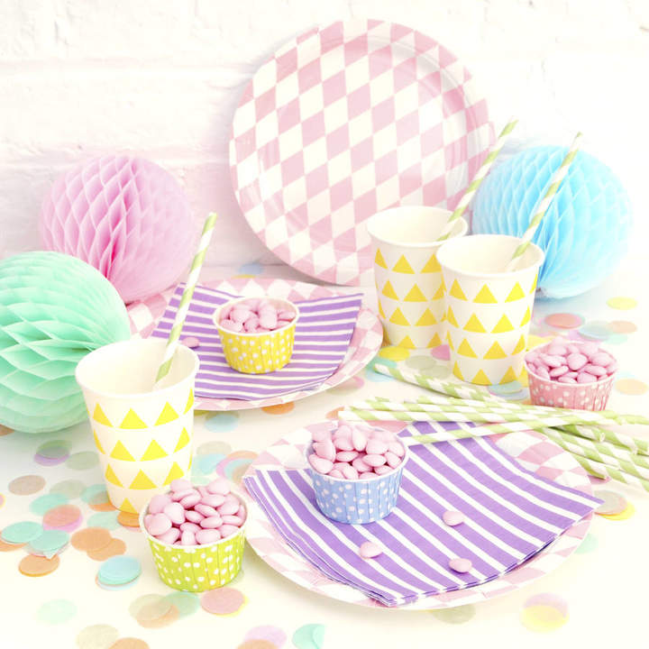 Peach Blossom Party Tableware Set