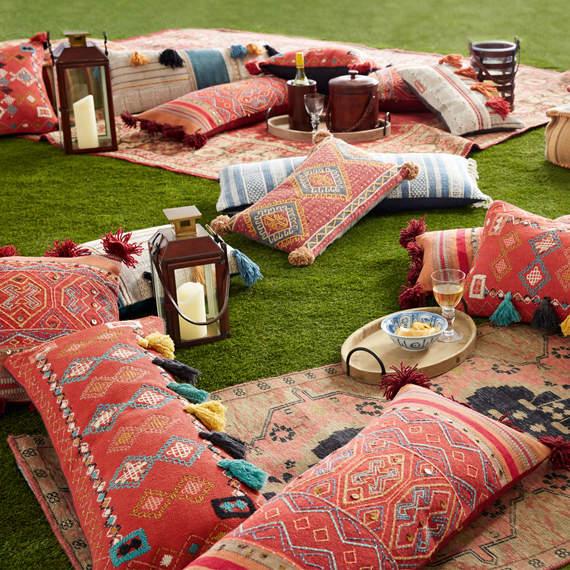 Oka Cuzco Cushion Cover, Large