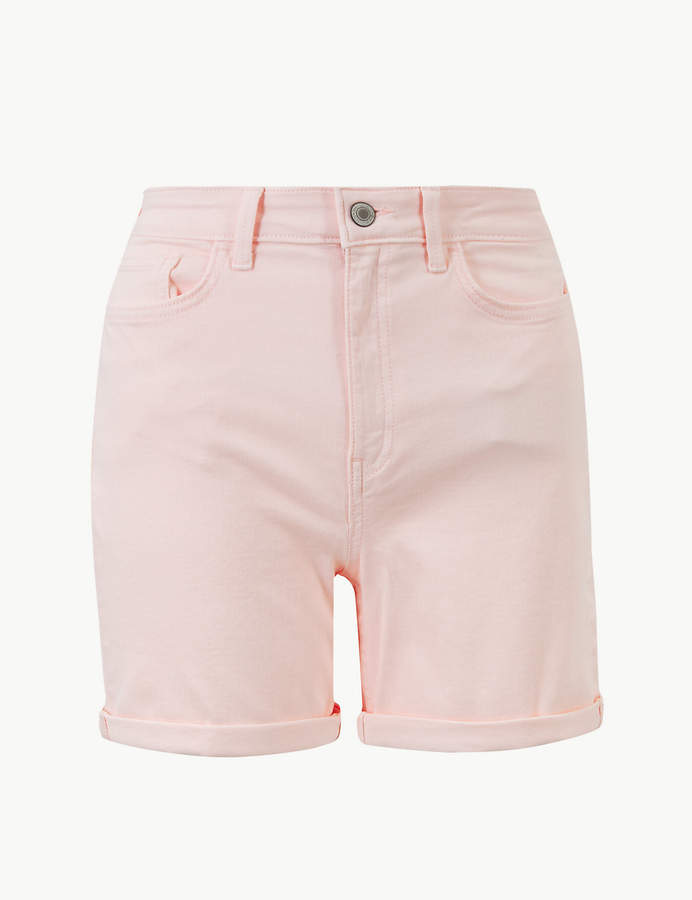 M&S CollectionMarks and Spencer Sculpt & Lift Denim Shorts