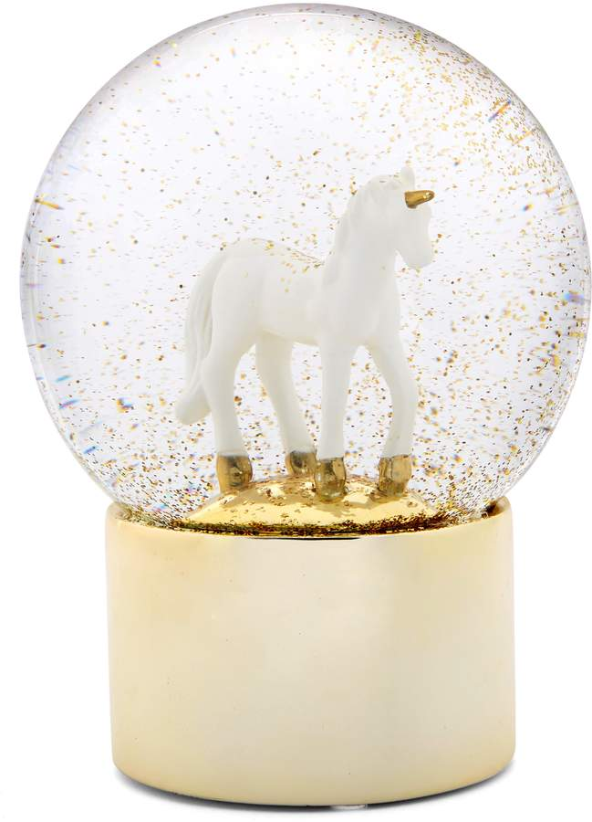 Nordstrom at Home Unicorn Snow Globe