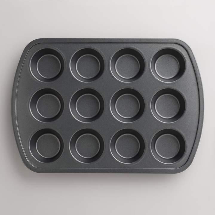Cost Plus World Market Metal Nonstick 12c Muffin Pan