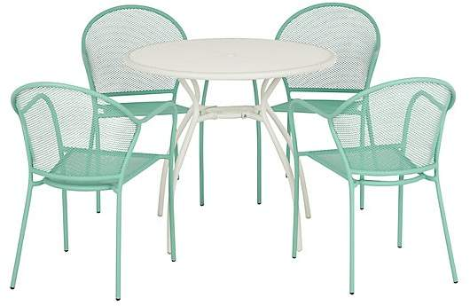 George Home Limnos 5 Piece Patio Set - Green