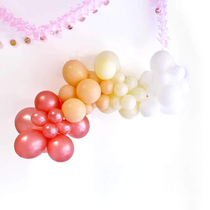 Peach Blossom Blush Balloon Garland Party Decoration Kit