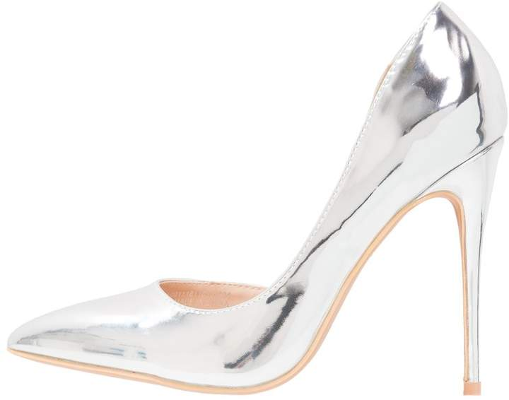Lost Ink GIGI D'ORSAY COURT High heels silver