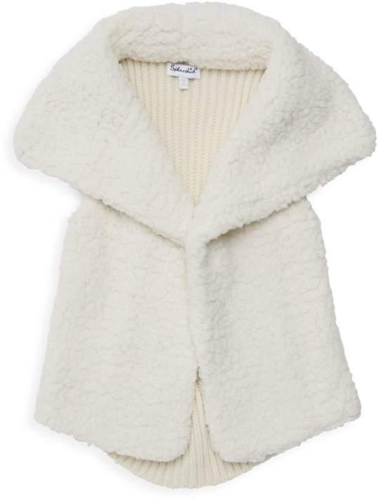 Splendid Baby Girl's & Little Girl's Faux Sherpa Vest