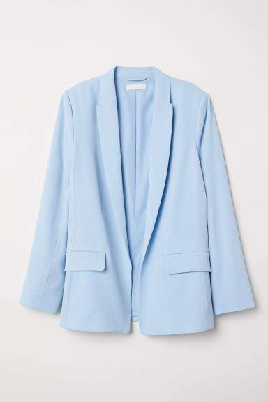 H&M - Straight-cut Jacket - Blue