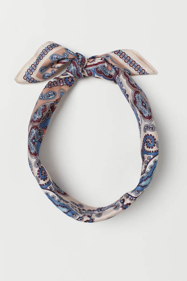 H&M - Scarf/hairband - Blue