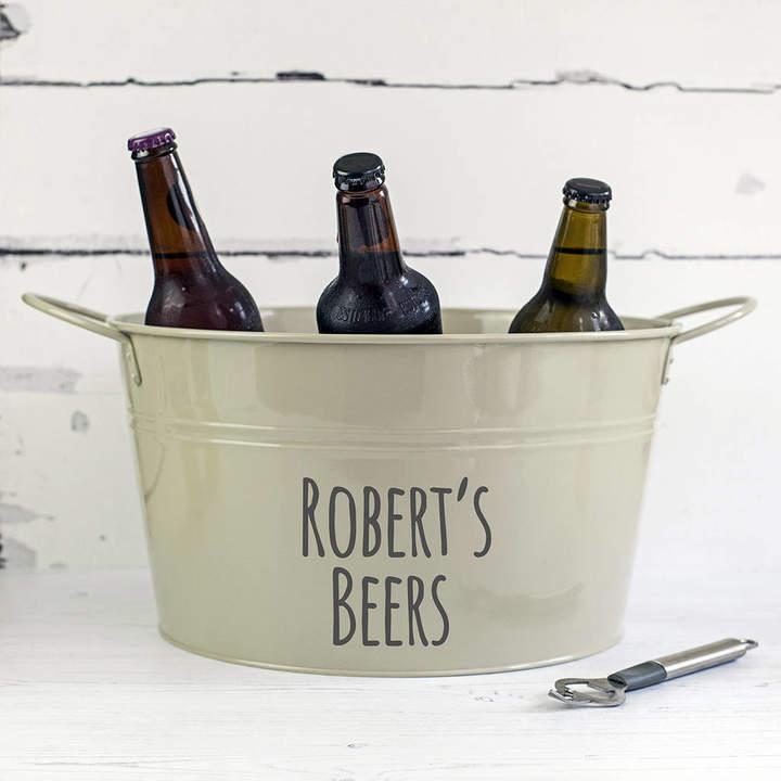 Jonny's Sister Personalised Beer Bucket