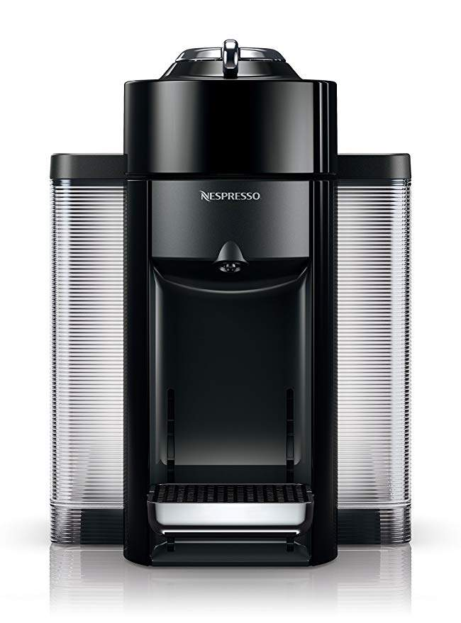 Nespresso ENV135B Coffee and Espresso Machine by De'Longhi, Black