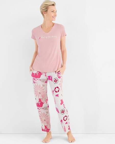 Chicos Living Beyond Breast Cancer Pajama Set