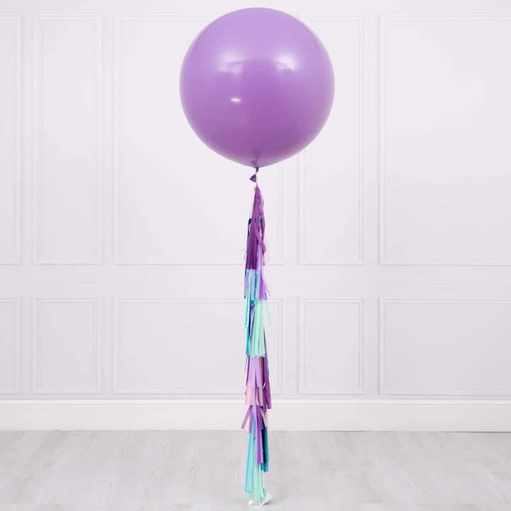 Bubblegum Balloons Mermaid Tassel Tail Giant Balloon
