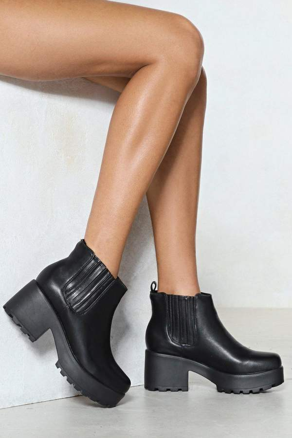 Nasty Gal Rise to the Top Chelsea Boot