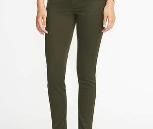 High Rise Sateen Rockstar Pop Color Jeans For Women