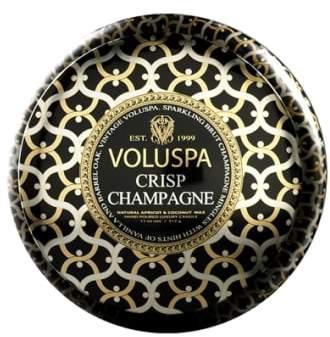 Voluspa Maison Noir Crisp Champagne Maison Metallo Two-Wick Candle