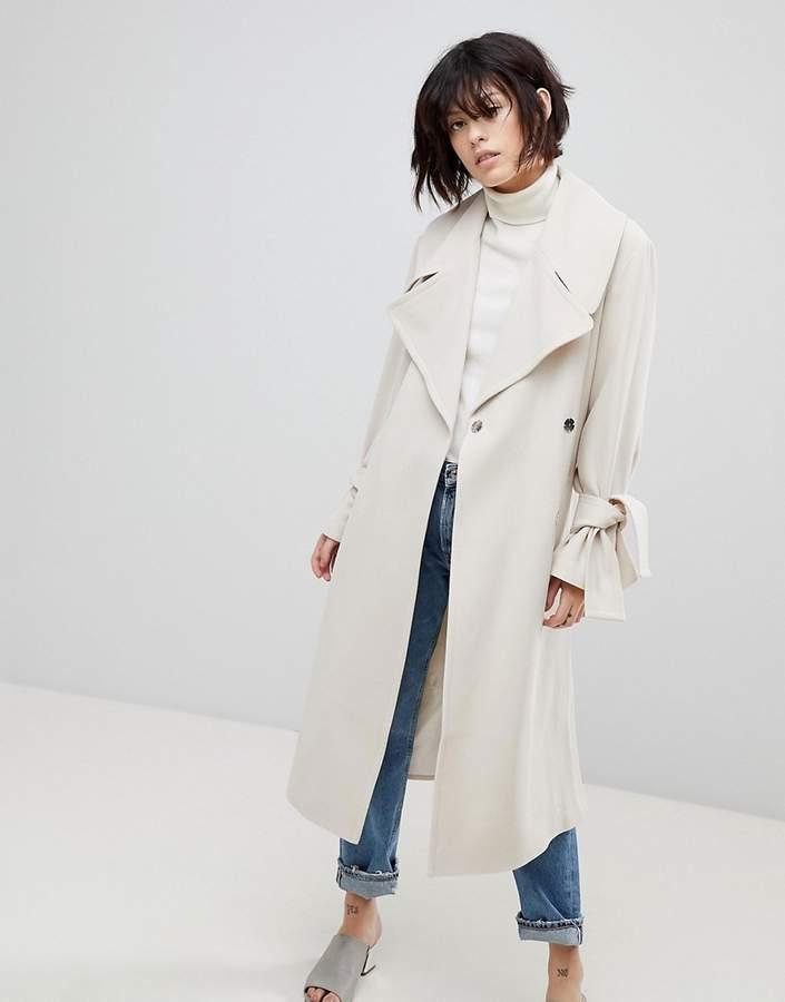 Asos Design ASOS Belted Coat