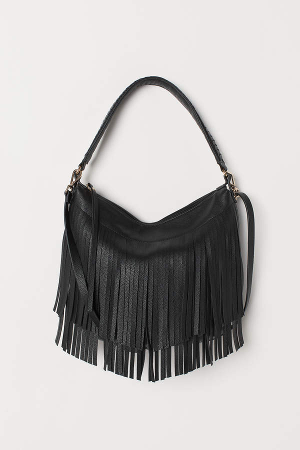 H&M Hobo bag with fringing